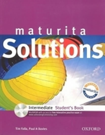 MATURITA SOLUTIONS INTERMEDIATE SB