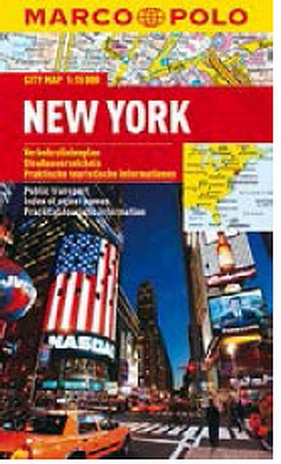 New York 1:15T kapesní mapa MP - lamino