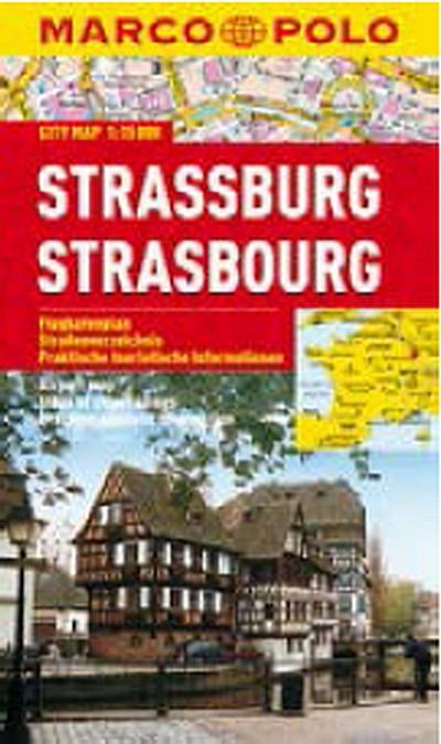 Strasbourg 1:15T kapesní mapa MP - lamino
