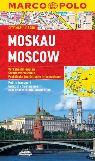 Moskva 1:15 T kapesní mapa MP - lamino