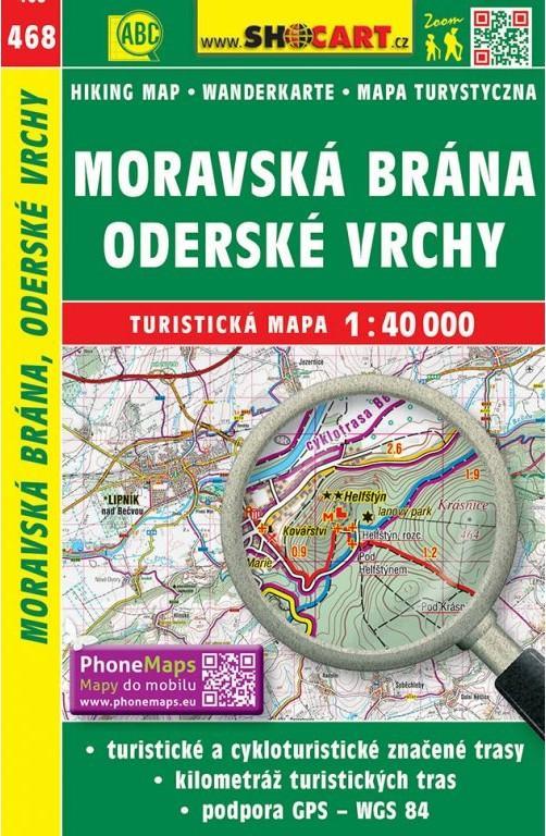 MORAVSKÁ BRÁNA ODERSKÉ VRCHY TM468