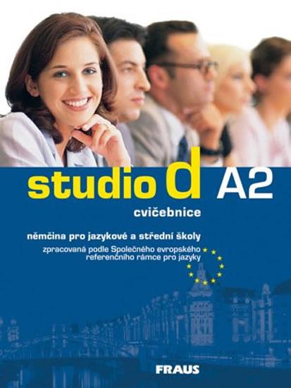 STUDIO D A2 CVIČEBNICE MODRÁ