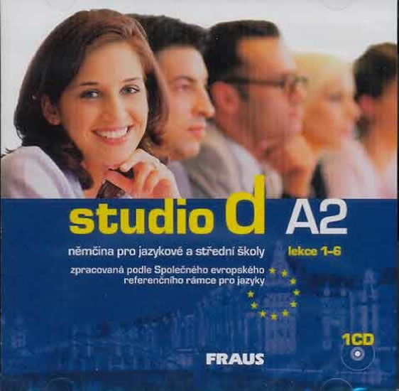 Studio d A2 /1-6/ CD Fraus