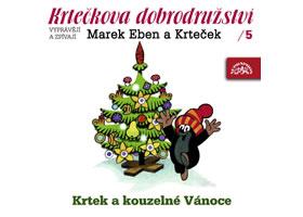 Krtečkova dobrodružství 5 - Krtek a kouzelné Vánoce - CD