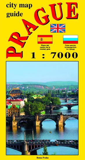 Praha-plán 1:7t. ang. Bema