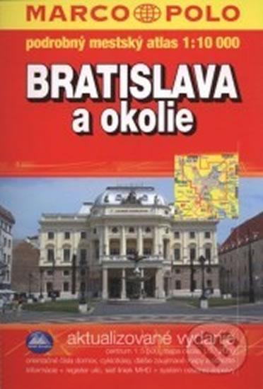 Bratislava a okolí - atlas 1:10 MP