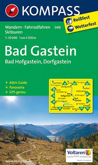 BAD GASTEIN, BAD HOFGASTEIN 1:35 000 (040)