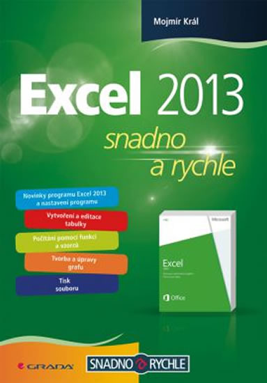 EXCEL 2013 SNADNO A RYCHLE