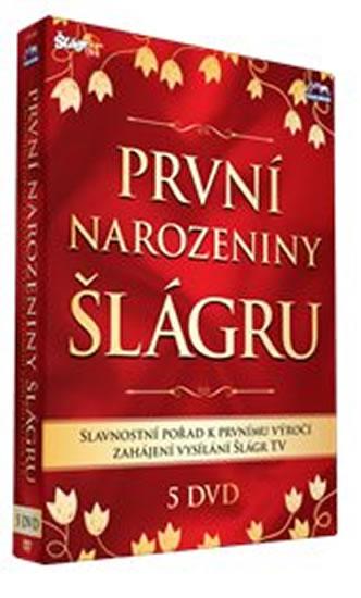 1. narozeniny Šlágr TV - 5 DVD - neuveden
