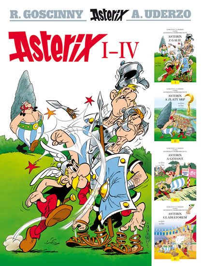 Asterix I - IV - Goscinny R., Uderzo A.,