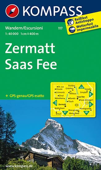 ZERMATT, SAAS FEE 1:50 000 (117)