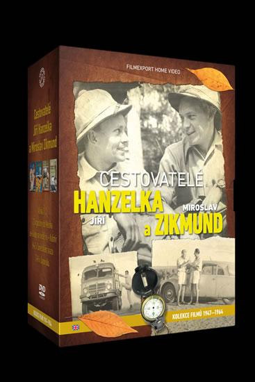 DVD Cestovatelé Zikmund a Hanzelka - kolekce 9 DVD