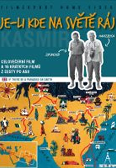 DVD Je-li kde na světě ráj (Hanzelka/Zikmund)