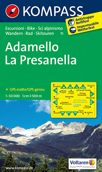ADAMELLO - LA PRESANELLA  71  NKOM