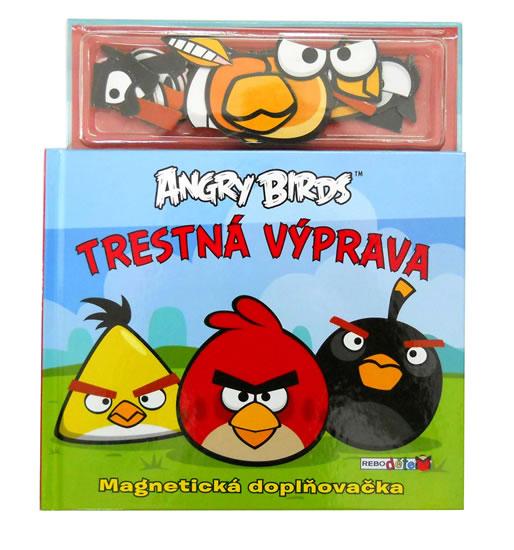 ANGRY BIRDS TRESTNÁ VÝPRAVA MAGNETKY