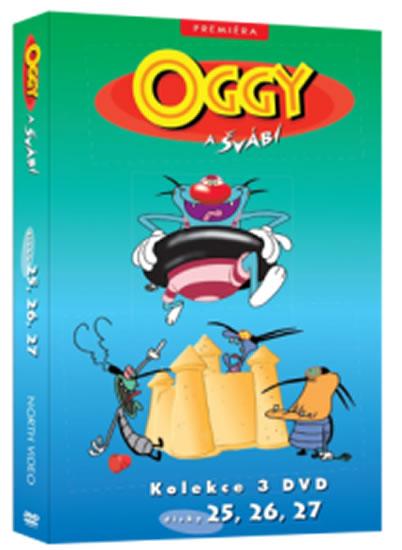 Oggy a švábi 25 - 27 / kolekce 3 DVD