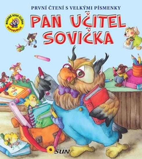 047-2 PAN UČITEL SOVIČKA PRVNÍ ČTENÍ S VELKÝMI PÍSMENKY - NIKLÍČKOVÁ ALEXANDRA
