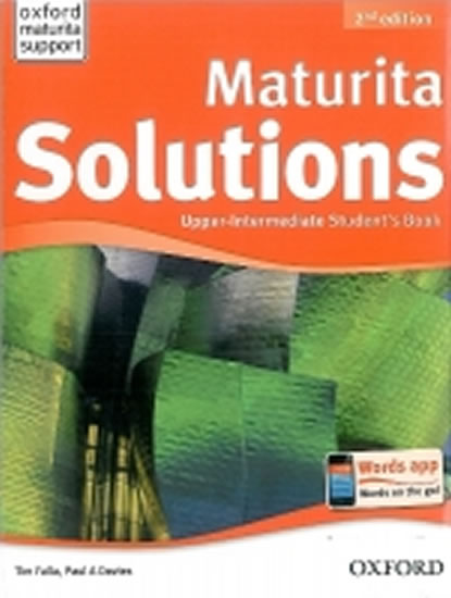 Maturita Solutions 2ed Upper Inter SB Czech ed.