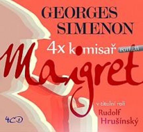 CD Maigret komisař - komplet  (14CD)