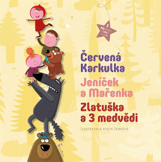 3 pohádky - Červená Karkulka, Jeníček a Mařenka, Zlatuška a 3 medvědi - neuveden