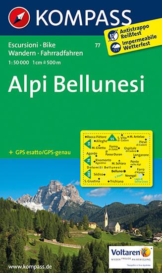 Alpi Bellunesi 77 Kompass