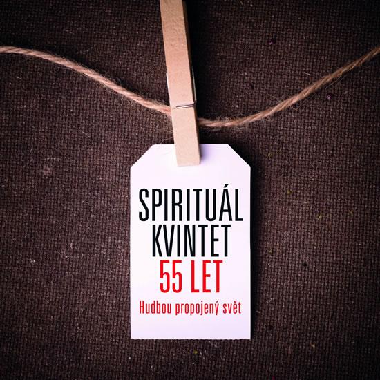 CD SPIRITUÁL KVINTET 55 LET 10 CD + 1 DVD