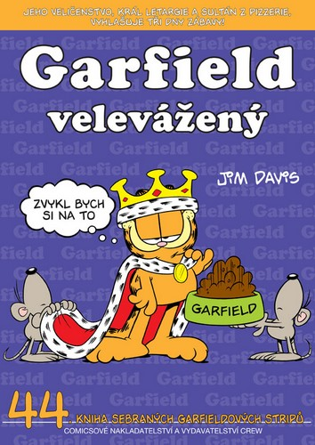 GARFIELD VELEVÁŽENÝ