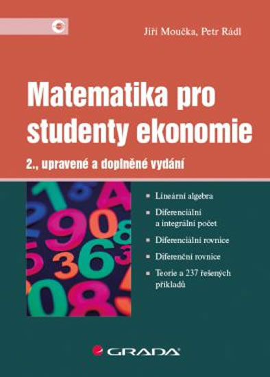 MATEMATIKA PRO STUDENTY EKONOMIE 2.VYDÁNÍ