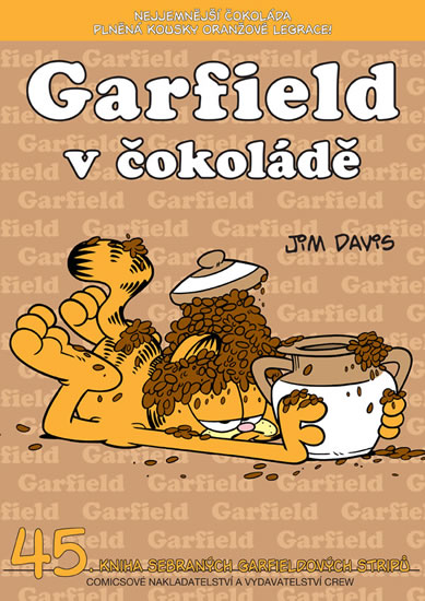 GARFIELD V ČOKOLÁDĚ (Č.45)
