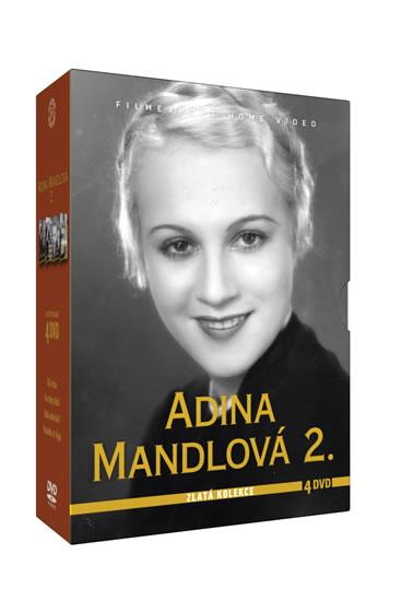 Adina Mandlová 2. - Zlatá kolekce 4DVD