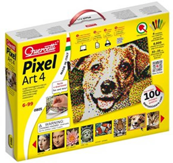 Pixel Art Universal 4 Tavolette
