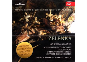 Zelenka: Hudba Prahy 18. století. MISSA NATIVITATIS DOMINI - CD