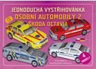 Jednoduchá vystřihovánka osobní automobily 2 - Škoda Octavia