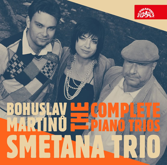 Klavírní tria - B. Martinů - CD