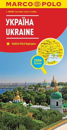 UKRAJINA 1:800T/MAPA(ZOOMSYSTEM)MD
