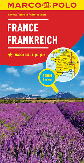FRANCIE 1:800T/MAPA(ZOOMSYSTEM)MD