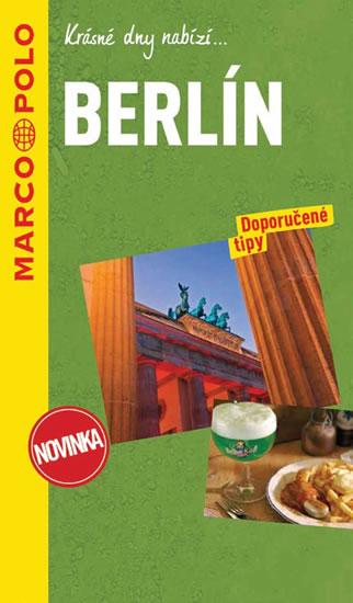 BERLÍN PRŮVODCE S MAPOU