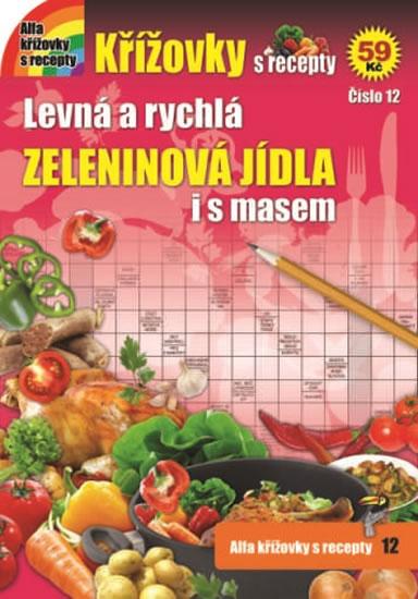 Křížovky s recepty 12 - Zeleninová jídla
