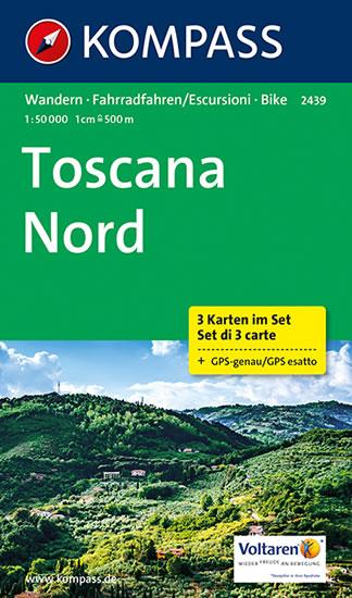 Toscana nord Kompass