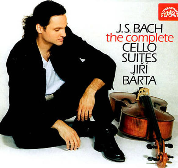 CD J.S. Bach - Cello Suites (The Complete) - Jiří Bárta 1996