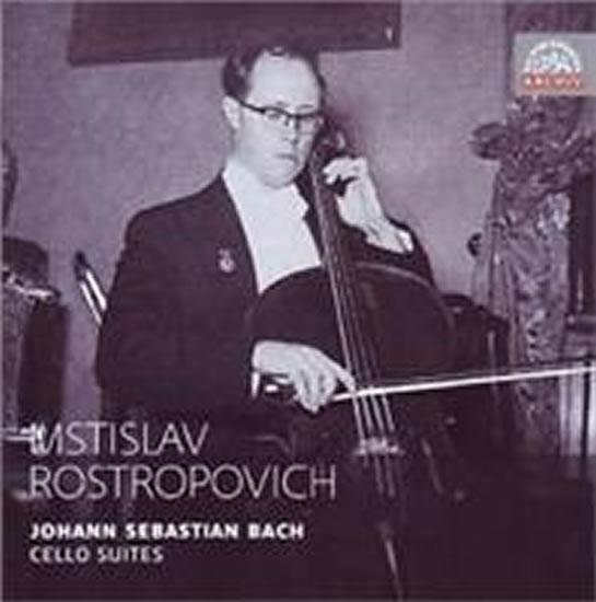 CD J. S. Bach - Suites for cello / Mstislav Rostropovich 1955