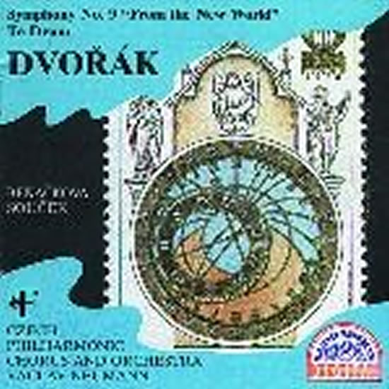 Symfonie č. 9 - Novosvětská, Te Deum CD