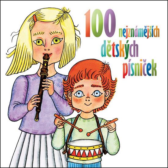 100 nejznámějších dětských písniček - 2 CD - Various