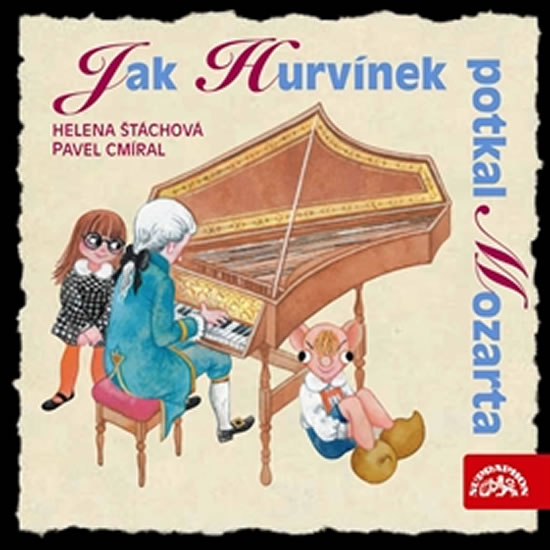 CD Jak Hurvínek potkal Mozarta 6