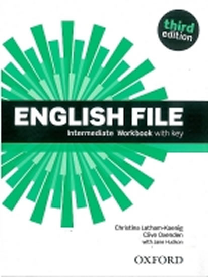 ENGLISH FILE INTERMED 3RD WB WITH KEY