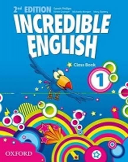 INCREDIBLE ENGLISH 2ND 1. CLASS BOOK
