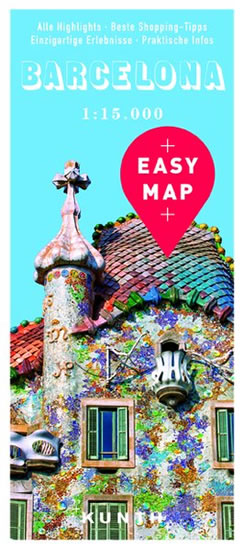 BARCELONA EASY MAP