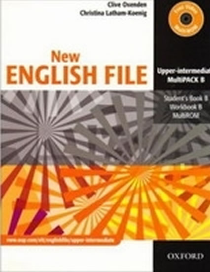 NEW ENGLISH FILE UPPER INTEMEDIATE MULTIPACK B