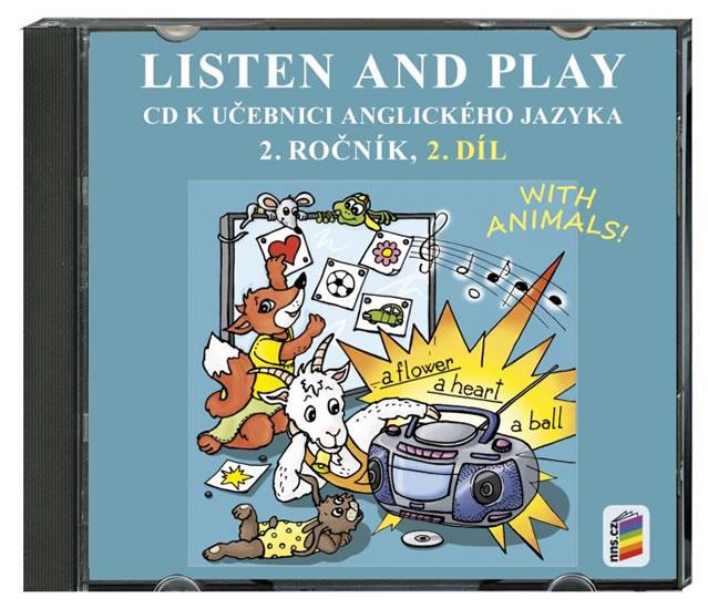 Listen and play 2.roč/2.díl CD Nová škola With Animals!