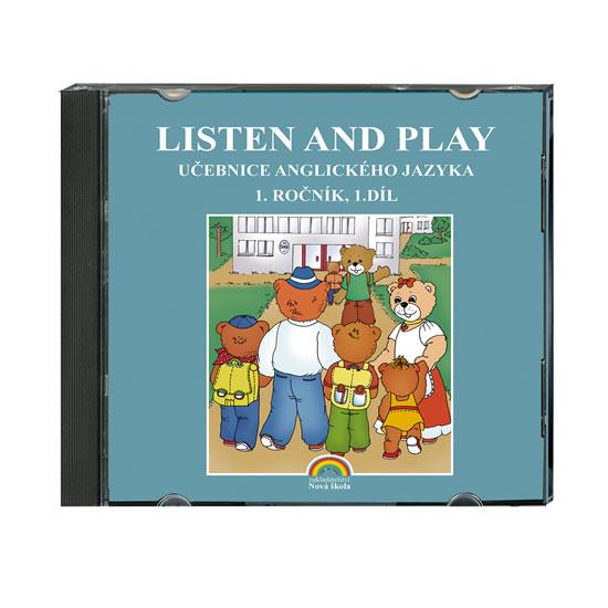 Listen and Play 1.roč/1.díl CD Nová škola With Zeddy Beats!